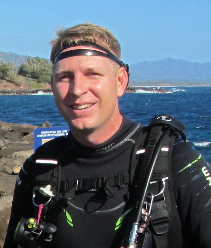 Scott Bacon, Kauai EOR Coordinator and Founder of Malama Na Apapa